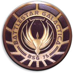 Battlestar Galactica badge