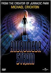 Andromeda Strain (1971) DVD cover