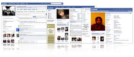 Facebook UI Evolution